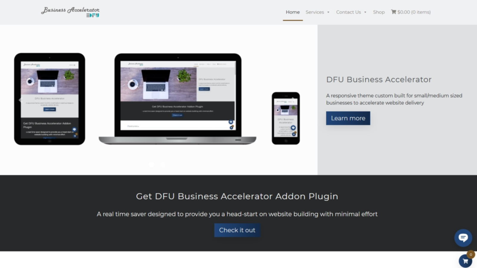 Design For U portfolio - DFU Business Accelerator demo-Design For U