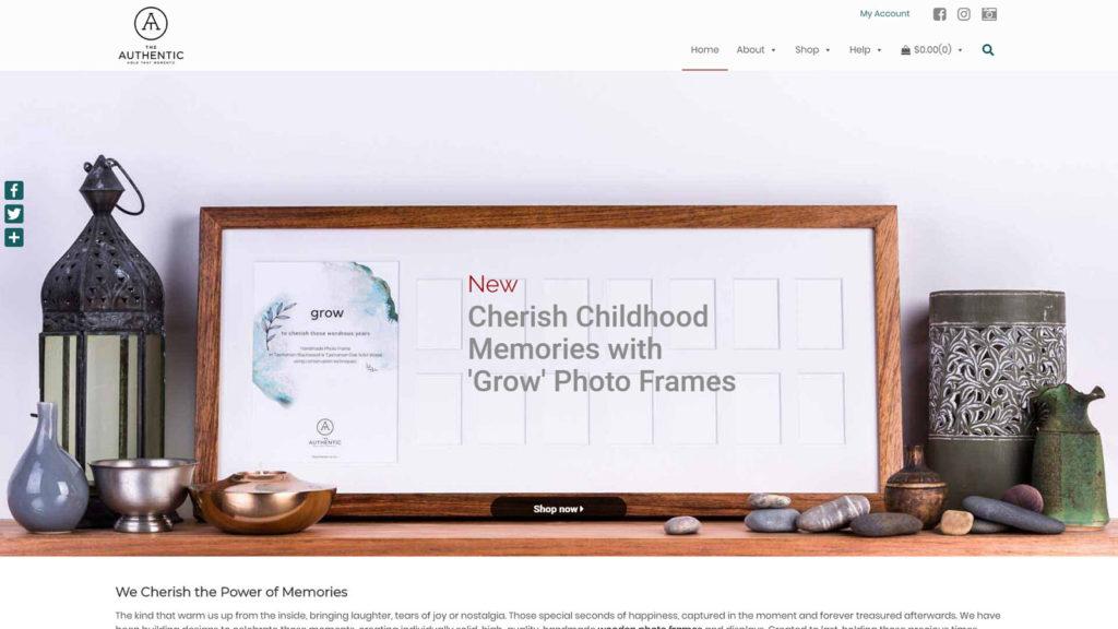 Design For U portfolio - The Authentic