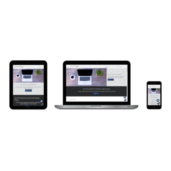 DFU Business Accelerator - WordPress theme